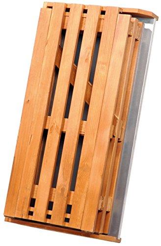 dobar 29053FSC Praktischer Pflanztisch aus FSC-Kiefernholz, zusammenklappbar, 85 x 44 x 89 cm