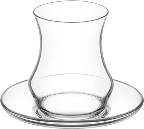 Eda 12 tlg. LAV Gläser Teeglas Türkische Teegläser Teegläserset Cay Bardagi Seti Tee Arabisch Orient (Tee-set Arabische)