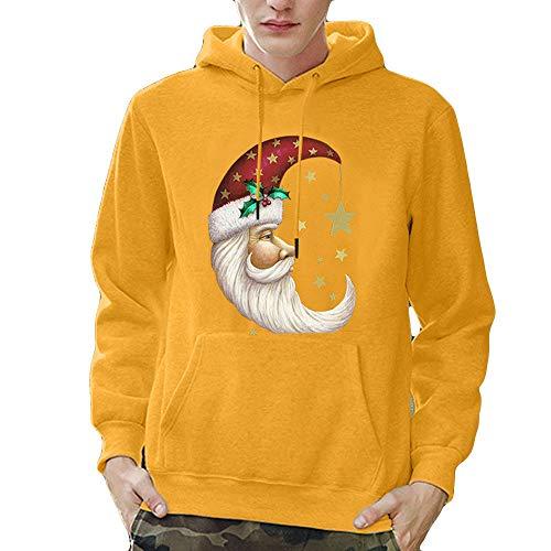 (BaZhaHei Winter Herren Hoodie Sweatshirt Weihnachten t Warm bleiben Männer Pullover Mode Kapuzenpullover Tasche Lange Ärme Outwear mit Kapuze Slim Long Sleeve Shirt)