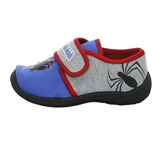 Spiderman SP002213/574 Jungen Hausschuh Kaltfutter Blau (Blau)