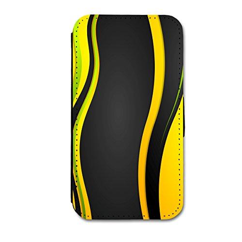 Book Style Flip Handy Tasche Case Schutz Hülle Schale Motiv Foto Etui für Apple iPhone 5 / 5S - X3 Design8 Design 11