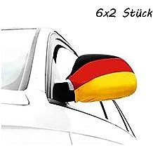 Autospiegelfahnen Deutschland Autofahne Flagge Autospiegel Fußball EM WM