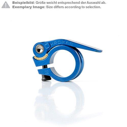 Chromag Sattelklemme QR Blau Gr. 30 mm