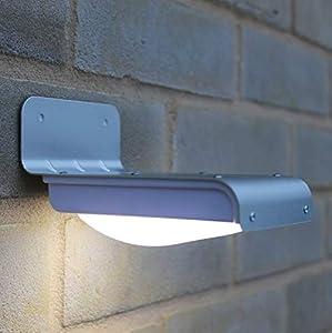 Frostfire 16 helle, kabellose, solarbetriebene LED Bewegungsmelderlampen (Wetterfest, Batterielos) by Frostfire