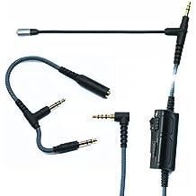 Gioco microfono, ketdirect Adattatore Cavo audio con microfono volume UNIVERSALE