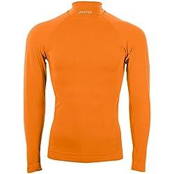 Joma Brama Classic, Camiseta térmica Unisex, Naranja, S/M