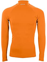 Joma Brama Classic, Camiseta térmica Unisex, Naranja, L/XL