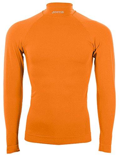 Joma brama classic - maglia termica a manica lunga, colore arancione taglia s/m