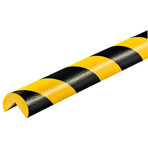 Eckschutzprofil Schutzprofil Kantenschutz Stoßschutz Knuffi Typ A gelb schwarz 1 Meter, Größe:1.00 m