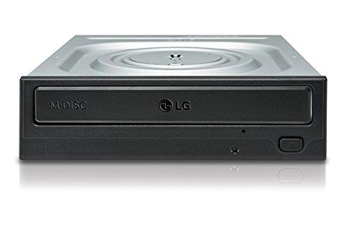 REGRABADORA LG DVD-RW interna 24x RETAIL SATA NEGRO (GH24NSD1.AUAR10B)