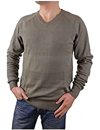 Timberland Pull Hommes Jones Brook Texture col en V Taille M