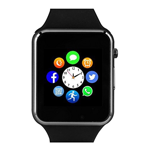 Bluetooth SmartwatchSmart Watch Unlocked Watch Phone Can Call And Text With TouchScreen Camera Notification Sync For Android SumSung Huawei And IOS IPhone 7 8 X
