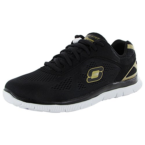 Skechers - Flex Appeal Love Your Style, Sneakers da donna Nero(Black)