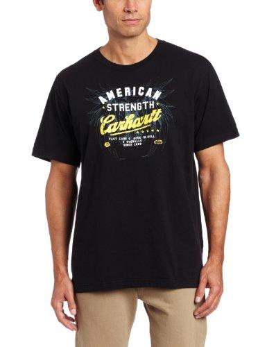 Carhartt T-shirt Strength Graphic Schwarz