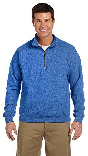 intage Quarter-Zip Cadet Halsband Sweatshirt Gr. Medium, königsblau ()
