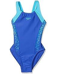 Speedo Girls Boom Splice Muscle Back Swimsuit