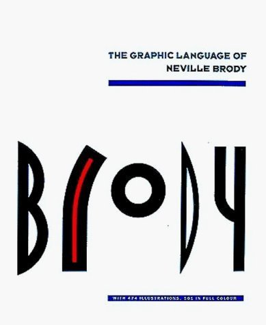 The Graphic Language of Neville Brody: v. 1 by Jon Wozencroft (1988) Paperback Buch-Cover