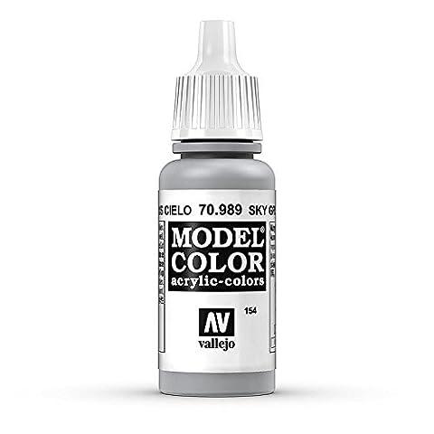 Vallejo Peinture acrylique pour modélisme 17 ml Sky Grey