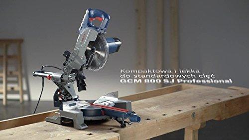 Bosch Professional Scie à Onglets Radiale Filaire GCM 800 SJ (1400 W, Ø de la lame : 216 mm)