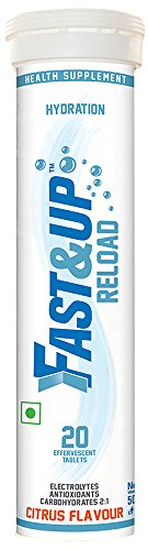 Fast&Up Reload - Citrus (Tube Of 20 Tablets) Electrolyte Instant...