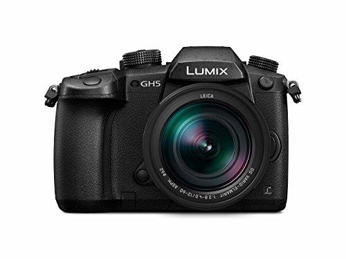 Panasonic Lumix Appareil photo Hybride Pro Vidéo DC-GH5LEF-K +LEICA 12-60 F2.8-4.0 (Capteur 4/3 20MP, Double stab., Viseur OLED, Écran orient. tact, 4K60p/C4K24p/4:2:2 10bit, Noir - Version Française