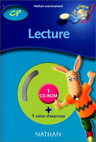 Lecture CP, cahier d'exercices (1 CD-Rom inclus)