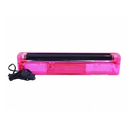 Eurolite 51101502 ABS UV-Röhre Komplettset (45 cm, 15 Watt) rot