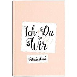 Cupcakes & Kisses Pärchenbuch zum Ausfüllen I Liebeserklärung an den Partner I Erinnerungsbuch für Paare I Süße Geschenkidee für Freund & Freundin