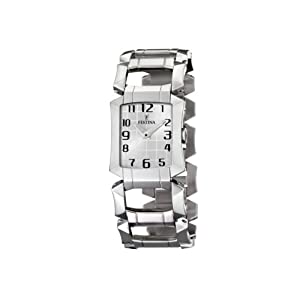 Reloj de mujer FESTINA F16470/1 de cuarzo, correa de acero inoxidable color plata de Festina