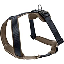 HUNTER Harness Neopren L 60-76 cm, 20 mm Nylon navy/Neoprene walnut