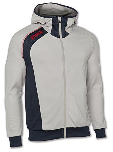 Joma - Chaqueta capucha elite v gris para hombre