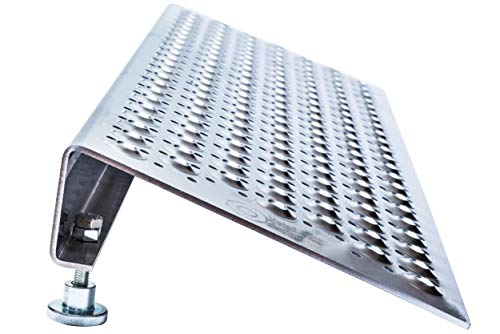 Resistente y conveniente Rampa plegable para Moto y rampa de acceso Rampas de carga 400 kg max Tama/ño 160 x 22.5x 4.5cm Rampa plegable