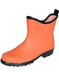 Potthoff - Calzado de protección de goma para hombre, color amarillo, talla 47