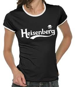 Touchlines Heisenberg Fly Girlie Contrast Women's T-Shirt black Size:S
