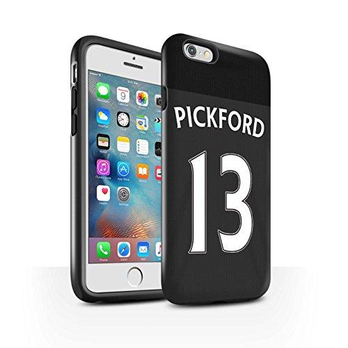 Offiziell Sunderland AFC Hülle / Glanz Harten Stoßfest Case für Apple iPhone 6S+/Plus / Pack 24pcs Muster / SAFC Trikot Away 15/16 Kollektion Pickford