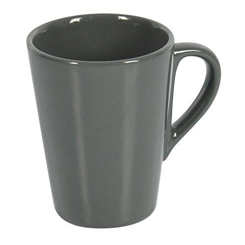 Delys-By-Vercal 513139 Mug en Faïence Gris 11 cm