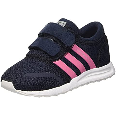adidas Los Angeles, Baby Niña Walking zapatos de bebé, color Azul, talla