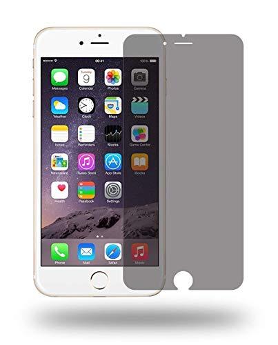 W&erglass - Panzerglas Privacy Screen Protector kompatibel mit iPhone 7 Plus & 8 Plus Blickschutz Sichtschutz Folie aus echt Glas