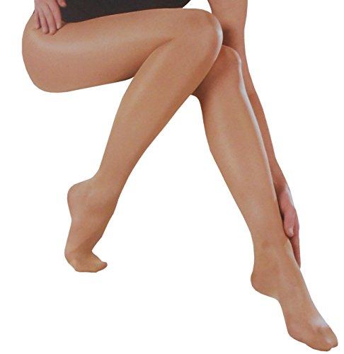 Esda by Ergora Stützstrumpfhose Lycra 40 den Vital Fit sanfter Massage Effekt Farbe Manhatten Gr. 52/54 Komfort plus (Plus Größe Strumpfhosen Mikrofaser)