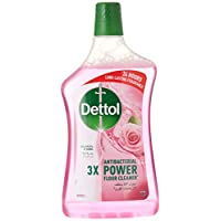 Dettol Rose Antibacterial Power Floor Cleaner 900ml