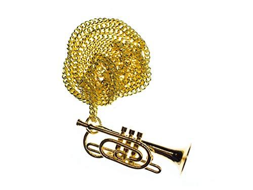 Miniblings Kornett Kette Halskette Horninstrument Blechblasinstrument Orchester