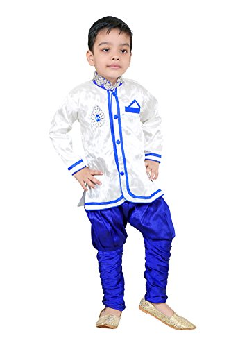 Kids Kurta Pyjama Set For Boys (5-6 Years)