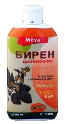 Bier Shampoo mit natürlichem Hopfenextrakt - für dickes, volles, glänzendes Haar - 200ml