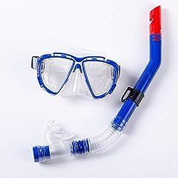 Jinxuny Máscara de natación para Adultos Anti Niebla A Prueba de Agua Gafas Protectoras Conjunto de Snorkel Conjunto de Snorkel Superior Equipo de Buceo Equipo de natación para Snorkeling