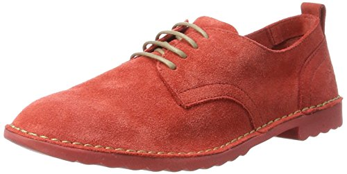 FLY London Damen Dena453fly Schnürschuhe Rot (street Red 001)