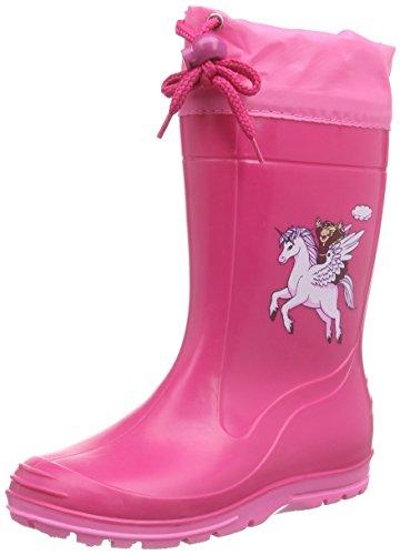Beck Pferd pink 498, Mädchen Stiefel, pink, EU 31