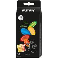 Preisvergleich für Billy Boy Fun Kondome Sortiment aus farbigen, perlgenoppten, farbig-aromatisierten und extra feuchten Kondomen...
