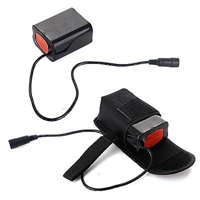AGM 6*18650 13200mAh 8,4V Battery-Pack Akkupack Batterie-Set für LED Fahrradlampe, Cree T6 Kopflampe