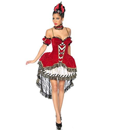 Alice-im-Wunderland-Kostüm, Größe:M