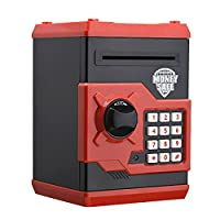 Luxugen Digitale ATM Spardose Elektrische Sparschwein Piggy Bank Spielzeug Geschenk für Kinder Teens